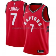 Maillot NBA Toronto Raptors 2018 Kyle Lowry 7# Icon Edition..