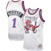 Maillot NBA Toronto Raptors 1998-99 Tracy McGrady 1# Platinum Hardwood Classics Swingman..