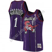 Maillot NBA Toronto Raptors 1998-99 Tracy McGrady 1# Violet Hardwood Classics Swingman..