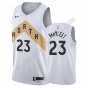 Maillot NBA Toronto Raptors 2019-20 Fred VanVleet 23# Blanc City Edition Swingman..