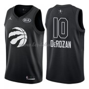 Maillot NBA Pas Cher Toronto Raptors DeMar DeRozan 10# Black 2018 All Star Game Swingman..