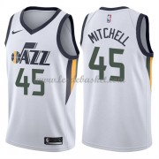 Maillot Basket Enfant Utah Jazz 2018 Donovan Mitchell 45# Association Edition..