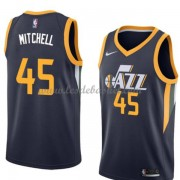 Maillot Basket Enfant Utah Jazz 2018 Donovan Mitchell 45# Icon Edition..
