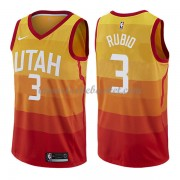 Maillot Basket Enfant Utah Jazz 2018 Ricky Rubio 3# City Edition..
