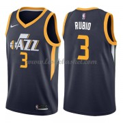 Maillot Basket Enfant Utah Jazz 2018 Ricky Rubio 3# Icon Edition..