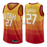 Maillot Basket Enfant Utah Jazz 2018 Rudy Gobert 27# City Edition..