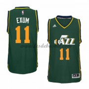 Maillot NBA Utah Jazz 2015-16 Dante Exum 11# Alternatre..