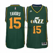 Maillot NBA Utah Jazz 2015-16 Derrick Favors 15# Alternate..