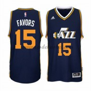 Maillot NBA Utah Jazz 2015-16 Derrick Favors 15# Road..