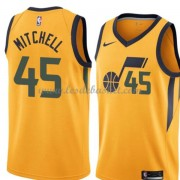 Maillot NBA Utah Jazz 2018 Donovan Mitchell 45# Statement Edition..