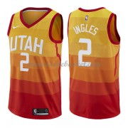 Maillot NBA Utah Jazz 2018 Joe Ingles 2# City Edition..
