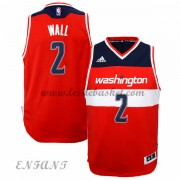 Maillot Basket Enfant Washington Wizards 2015-16 John Wall 2# Road..