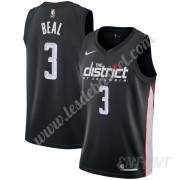 Maillot De Basket Enfant Washington Wizards 2019-20 Bradley Beal 3# Noir City Edition Swingman..