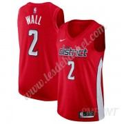 Maillot De Basket Enfant Washington Wizards 2019-20 John Wall 2# Rouge Earned Edition Swingman..