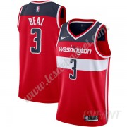 Maillot De Basket Enfant Washington Wizards 2019-20 Bradley Beal 3# Rouge Icon Edition Swingman..