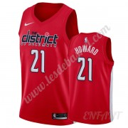 Maillot De Basket Enfant Washington Wizards 2019-20 Dwight Howard 21# Rouge Earned Edition Swingman..