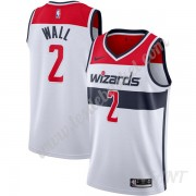 Maillot De Basket Enfant Washington Wizards 2019-20 John Wall 2# Blanc Association Edition Swingman..