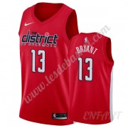 Maillot De Basket Enfant Washington Wizards 2019-20 Thomas Bryant 13# Rouge Earned Edition Swingman..