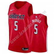 Maillot NBA Washington Wizards 2019-20 Markieff Morris 5# Rouge Earned Edition Swingman..