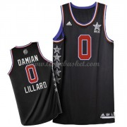 Maillot NBA Pas Cher West All Star Game 2015 Damian Lillard 0# NBA Swingman