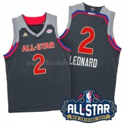 Maillot NBA Pas Cher West All Star Game 2017 Kawhi Leonard 2# NBA Swingman..