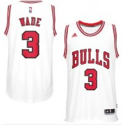 Maillot NBA Chicago Bulls 2017-18 Dwyane Wade 3# Home..