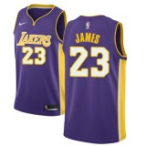 Maillot NBA Los Angeles Lakers 2018 LeBron James 23# Statement Edition