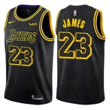 Maillot NBA Los Angeles Lakers 2018 LeBron James 23# City Edition