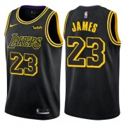 Maillot NBA Los Angeles Lakers 2018 LeBron James 23# City Edition..