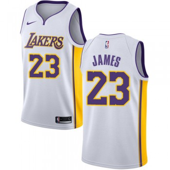 Maillot NBA Los Angeles Lakers 2018 LeBron James 23# Association Edition