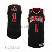 Maillot Basket NBA Chicago Bulls Enfant 2015-16 Derrick Rose 1# Alternate..