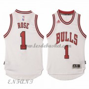 Maillot Basket NBA Chicago Bulls Enfant 2015-16 Derrick Rose 1# Home..