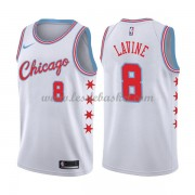Maillot NBA Chicago Bulls 2018 Zach Lavine 8# City Edition..