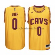 Maillot NBA Cleveland Cavaliers 2015-16 Kevin Love 0# Gold Alternate..