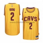 Maillot NBA Cleveland Cavaliers 2015-16 Kyrie Irving 2# Gold Alternate..