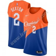 Maillot NBA Cleveland Cavaliers 2019-20 Collin Sexton 2# Bleu City Edition Swingman..