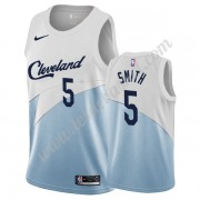 Maillot NBA Cleveland Cavaliers 2019-20 J.R. Smith 5# Blanc Earned Edition Swingman..