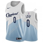 Maillot NBA Cleveland Cavaliers 2019-20 Kevin Love 0# Blanc Earned Edition Swingman..