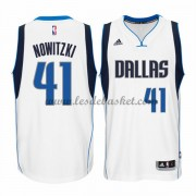 Maillot NBA Dallas Mavericks 2015-16 Dirk Nowitzki 41# Home..