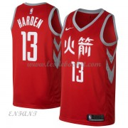 Maillot Basket Enfant Houston Rockets 2018 James Harden 13# City Edition..