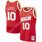 Maillot De Basket Enfant Houston Rockets 1993-94 Sam Cassell 10# Rouge Hardwood Classics Swingman..
