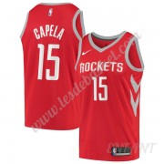 Maillot De Basket Enfant Houston Rockets 2019-20 Clint Capela 15# Rouge Icon Edition Swingman..