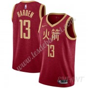 Maillot De Basket Enfant Houston Rockets 2019-20 James Harden 13# Rouge City Edition Swingman..