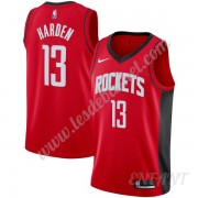Maillot De Basket Enfant Houston Rockets 2019-20 James Harden 13# Rouge Icon Edition Swingman..