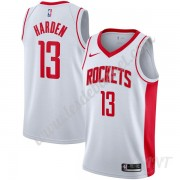 Maillot De Basket Enfant Houston Rockets 2019-20 James Harden 13# Blanc Association Edition Swingman..