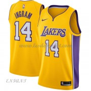 Maillot Basket Enfant Los Angeles Lakers 2018 Brandon Ingram 14# Icon Edition..