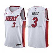 Maillot NBA Miami Heat 2018 Dwyane Wade 3# Association Edition..