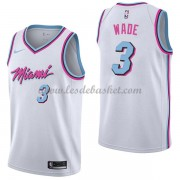 Maillot NBA Miami Heat 2018 Dwyane Wade 3# City Edition..