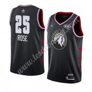 Maillot NBA Pas Cher Minnesota Timberwolves 2019 Derrick Rose 25# Noir All Star Game Swingman..