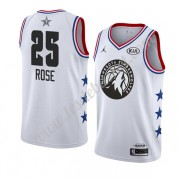 Maillot NBA Pas Cher Minnesota Timberwolves 2019 Derrick Rose 25# Blanc All Star Game Swingman..